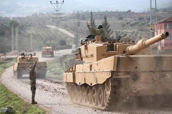 """TSK'dan """"Zeytin Dalı Harekatı"""" açıklaması"""