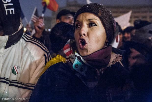 تظاهرات ضد فساد در رومانی