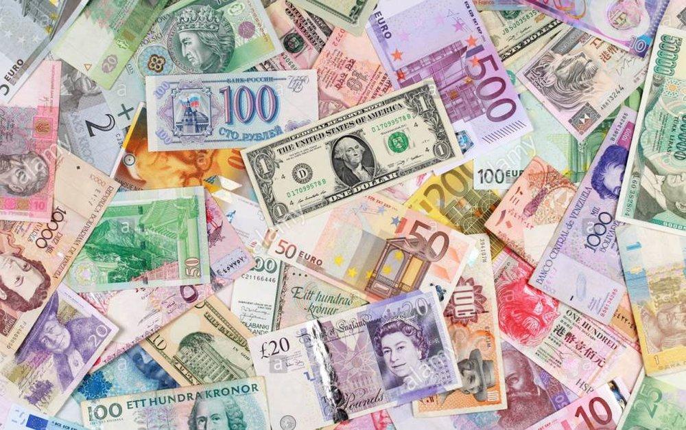 نرخ رسمی یورو و پوند کاهش یافت / قیمت ۱۳ ارز ثابت ماند