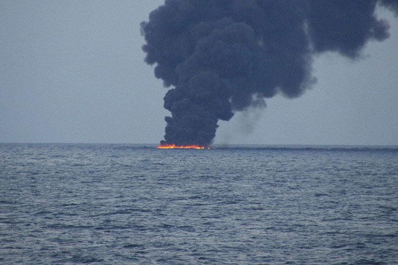 لکه های نفتی در خلیج فارس با تصاویر راداری مشاهده شد