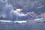 انفجار سکوی نفتی در اوکلاهامای آمریکا