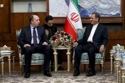 Cihangiri Tahran'da Belarus Sanayi Bakanı ile görüştü