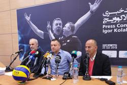 ایگور کولاکوویچ سرمربی تیم ملی والیبال ایران