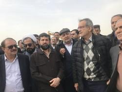 مسعود پزشکیان در خوزستان