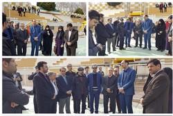اعضای شورای شهر اصفهان در تمرین سپاهان