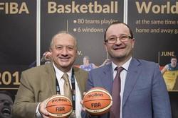 پیام تبریک رئیس و دبیر فدراسیون جهانی بسکتبال به طباطبایی