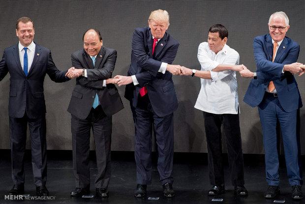 Fotoğraflarla Donald Trump'ın geride bıraktığı bir sene