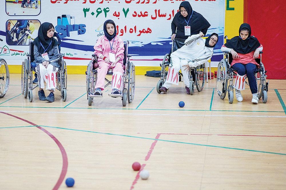 Boccia league gets underway in Tehran