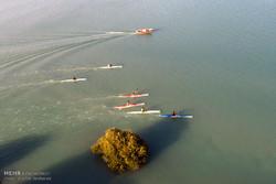 اردوی تیم ملی قایقرانی در قشم