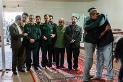 بازدید سردار غیب پرور اذ مناطق حاشیه نشین کرج
