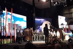 مراسم بزرگداشت شهادت سردار حسن باقری برگزار شد