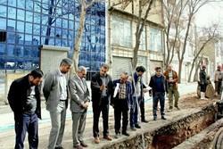 بازدید از تاسیسات فاضلاب شهر کرمانشاه