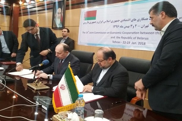Iran, Belarus sign 8 MoUs