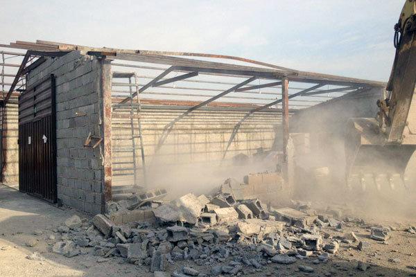 آزادسازی ۵۰۰۰متر زمین کشاورزی در اسلامشهر/۶۲تراکتور پلاک گذاری شد