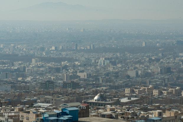 وارونگی هوا و افزایش آلایندهها در استان البرز