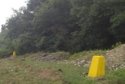 نصب ۱۰ هزار عدد بنچ مارک در مرز منابع طبیعی غرب مازندران