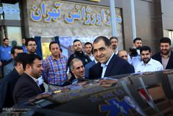 آیین افتتاح ساختمان مرکز اورژانس 115 تهران