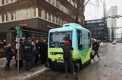 سوئد اتوبوس های خودران الکتریکی آزمایش می کند