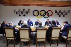 کمیته ملی المپیک - هیات اجرایی کمیته ملی المپیک