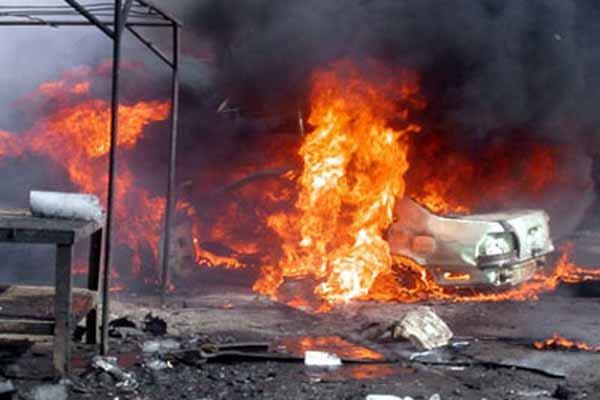 انفجار سيارة مفخخة جنوب كركوك