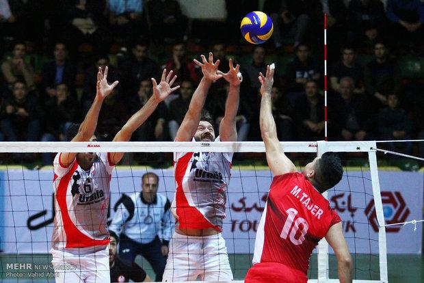 İran Erkekler Voleybol Ligi'nden kareler