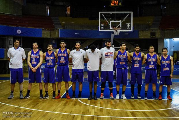 İran basketbolunun kritik maçından kareler