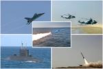 آزمون موفق ۷ سلاح جدید در رزمایش ارتش/ تجهیز نظامی در دریای عمان