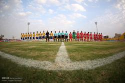 پیروزی تیم فوتبال صنعت نفت مقابل منتخب خرم آباد