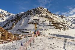 کاهش بارش برف در دیزین