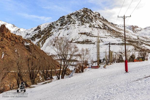 Reduced snowfall in Dizin Ski resort