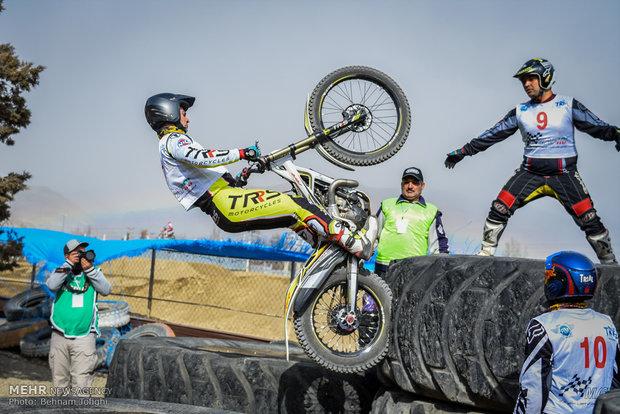 İran'daki motosiklet yarışlarından kareler کشور