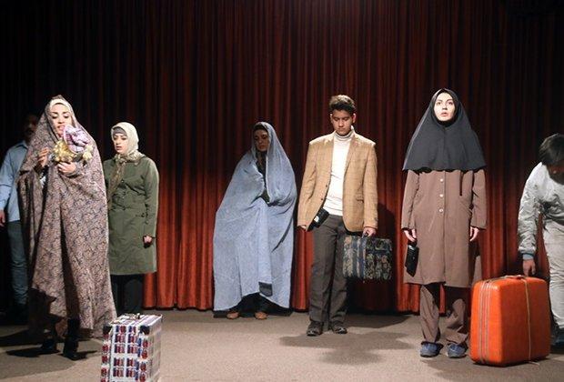 نمایش «ایران» در سالن سعدی به صحنه رفت