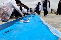 نقش آب بر تالاب پریشان/ مردم به احیای تالاب امیدوارند