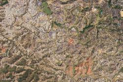 تصاویر ماهواره ای از زمین در 2 ماه گذشته