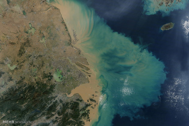 برآورد سطح پهنههای آبی با ماهواره/ افزایش مساحت دریاچه ارومیه