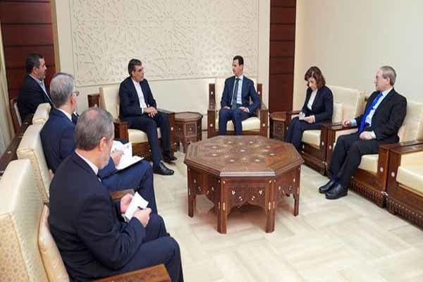 بشار الأسد: السوريون ماضون في نضالهم ضد الإرهاب بالتعاون مع الدول الصديقة وفي مقدمتها إيران