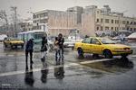 ارائه خدمات مطلوب به شهروندان در روزهایی برفی و بارانی