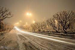 استمرار هطول الثلج بالعاصمة طهران / صور