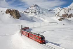 احتمال تأخیر مجدد حرکت قطارها در برف و کولاک امروز