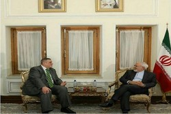 FM Zarif receives UN special envoy to Iraq