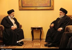 Raeisi meets Hezbollah chief in Lebanon