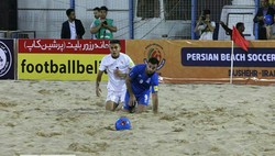 Iran wins Ukraine in 2nd Persian Beach Soccer Cup