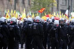 پلیس آلمان و پ ک ک