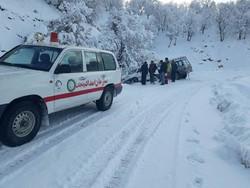 إنقاذ نحو 56 الف شخص من العالقين في العواصف الثلجية