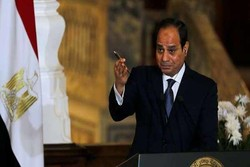 السیسی: عملیات در سیناء ادامه می یابد