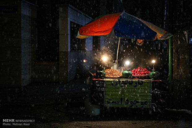 شب برفی تهران/ آخر هفته هوا ۱۰ درجه سردتر میشود