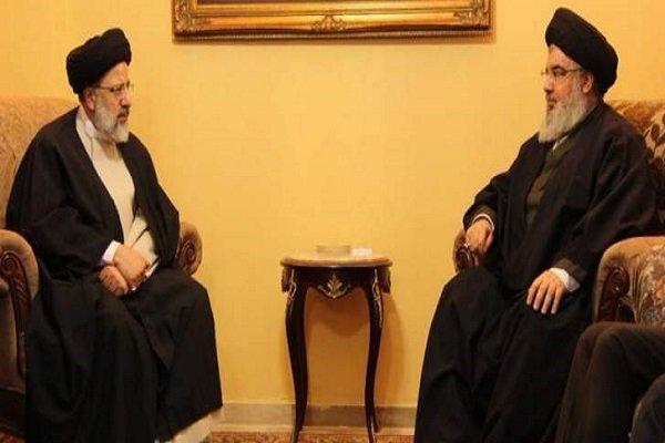 Reisi, Beyrut'ta Seyyid Hasan Nasrallah ile görüştü