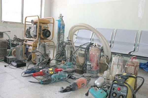 دستگیری مالخر و کشف اموال سرقتی در شهرستان مانه و سملقان