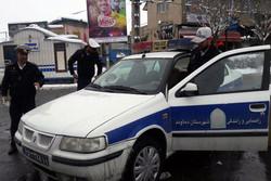 استفاده از زنجیر چرخ در مسیرهای داخل شهری شرق تهران الزامی شد