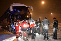امدادرسانی به گرفتار شدگان در برف